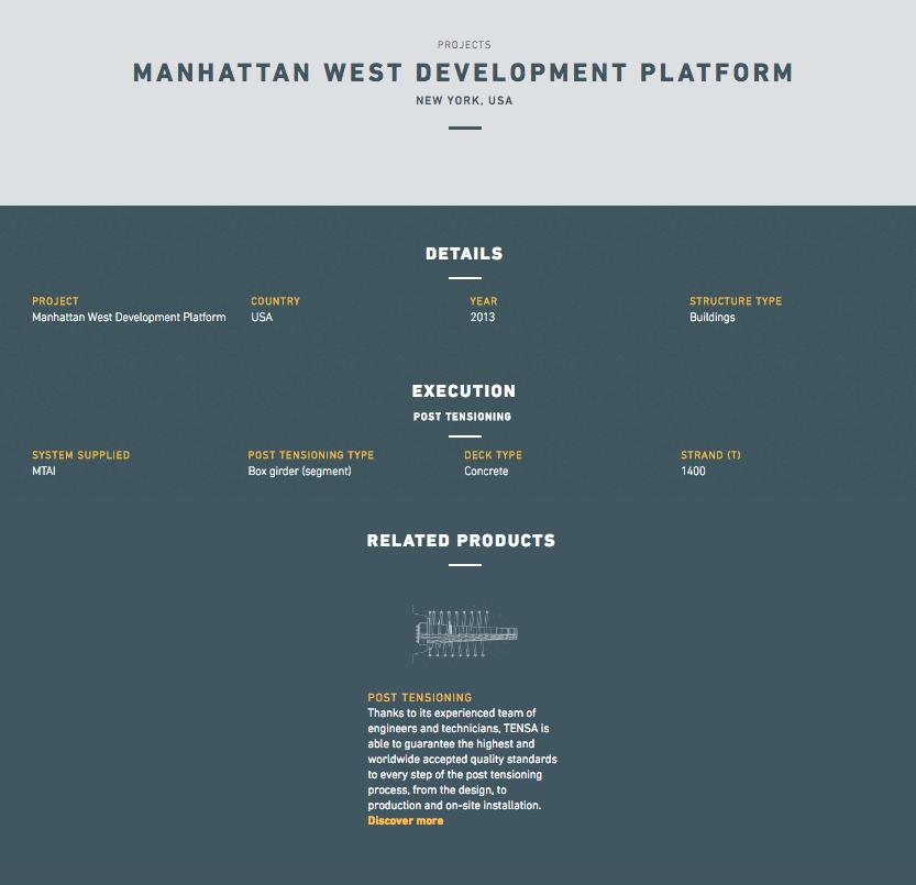 Collegamento siti Web NYC